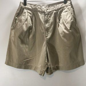 Brooks Brothers 346 Shorts Bermuda Golf Khaki 100%